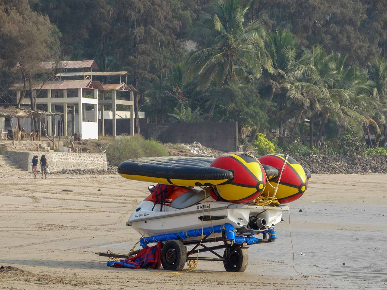Water sports at Kashid Beach