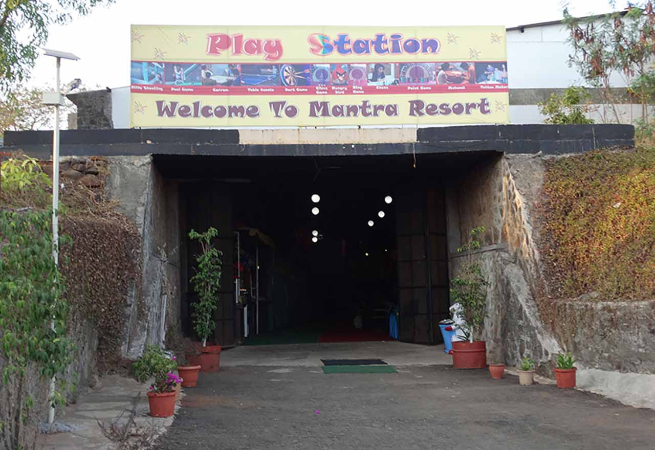 Play station at Mantra Resort