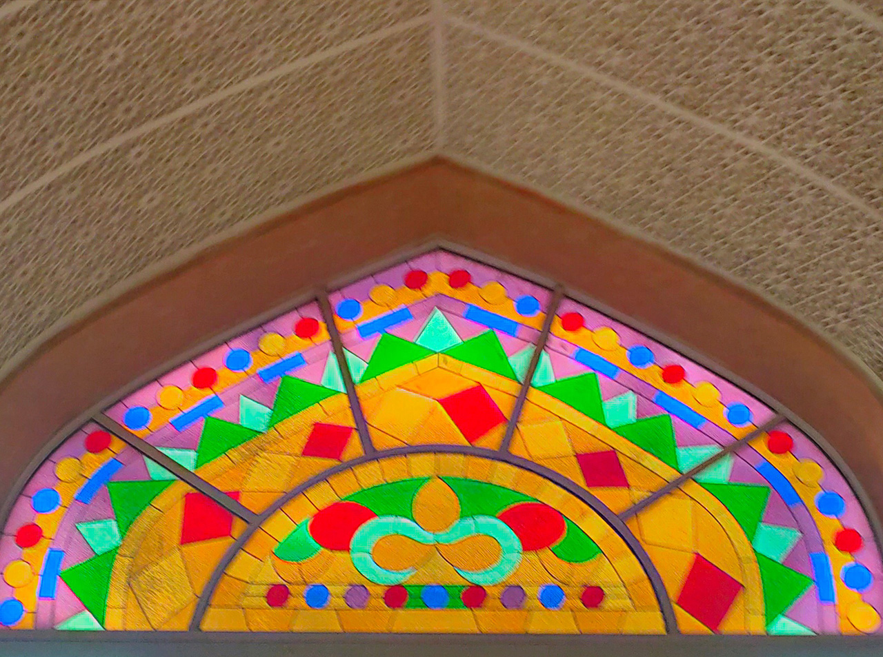 Stained Glass Artwork at Mutrah Corniche