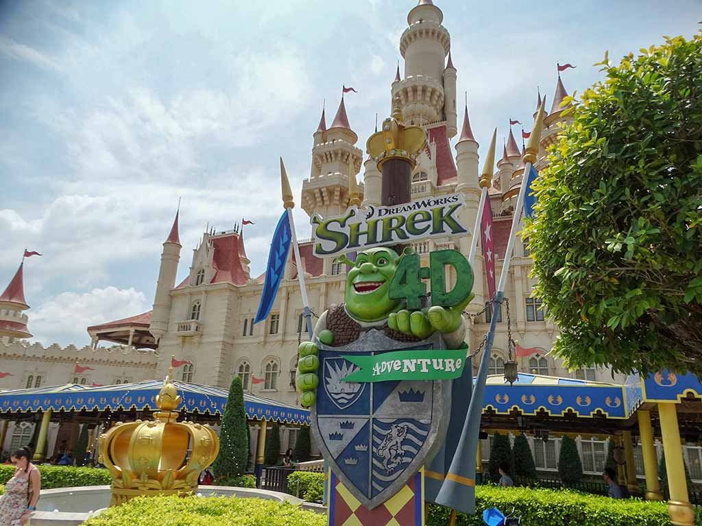 Shrek 4D Adventure