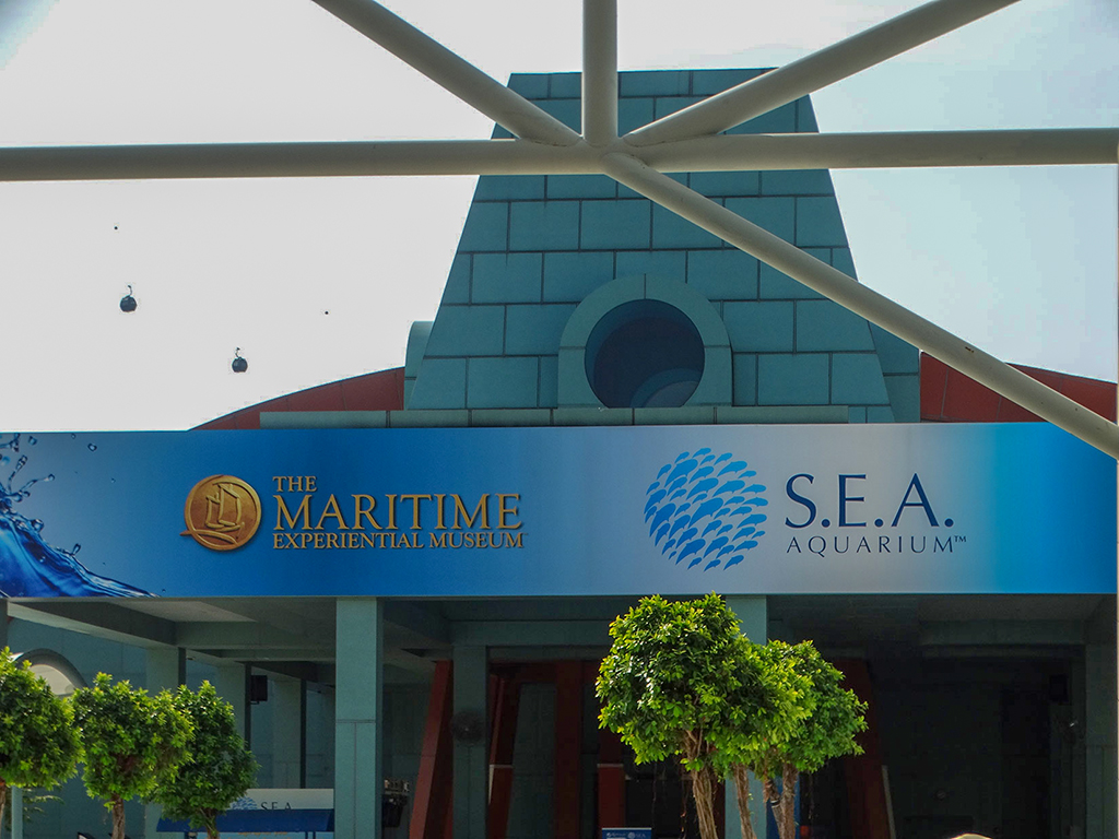Entrnace to SEA Acquarium