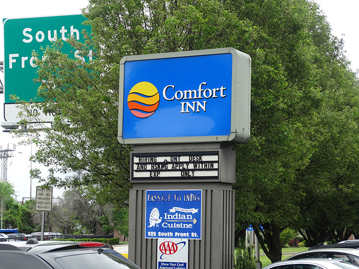 Comfort Inn Indian Restaurant