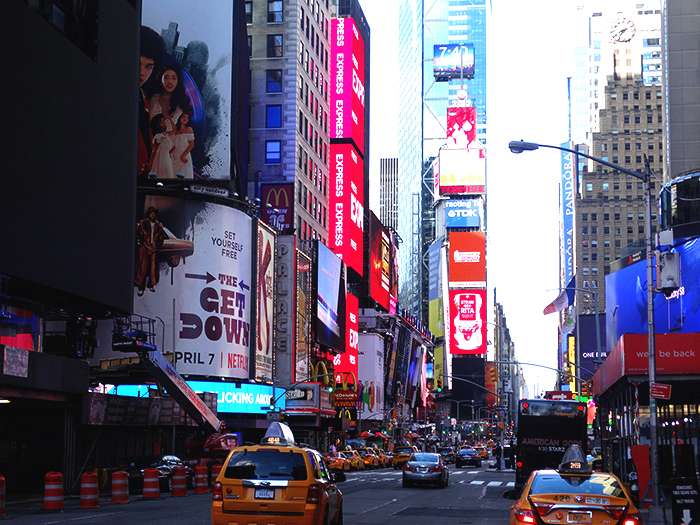 Illumination at Times Square, New York